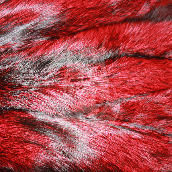 "Fox skins dyed S/P ""Red"""