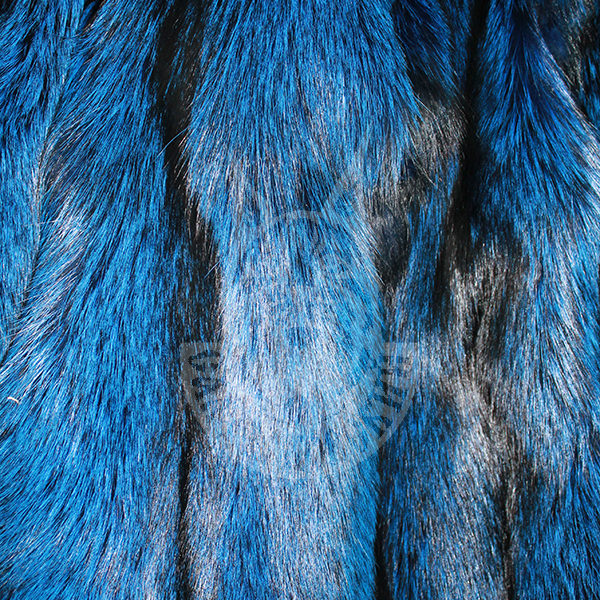 """Fox skins colored S/P """"Blue"""""""